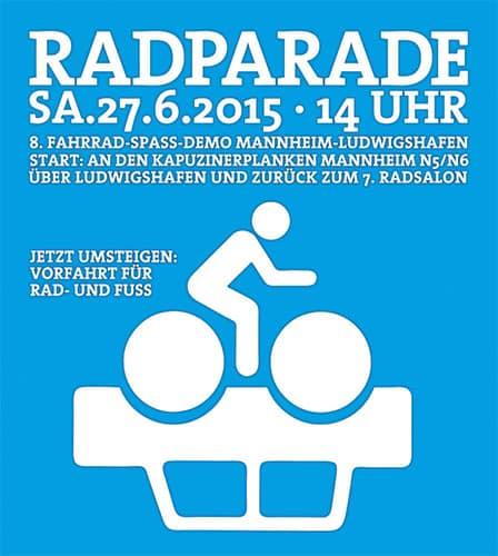 8. Radparade Mannheim / Ludwigshafen